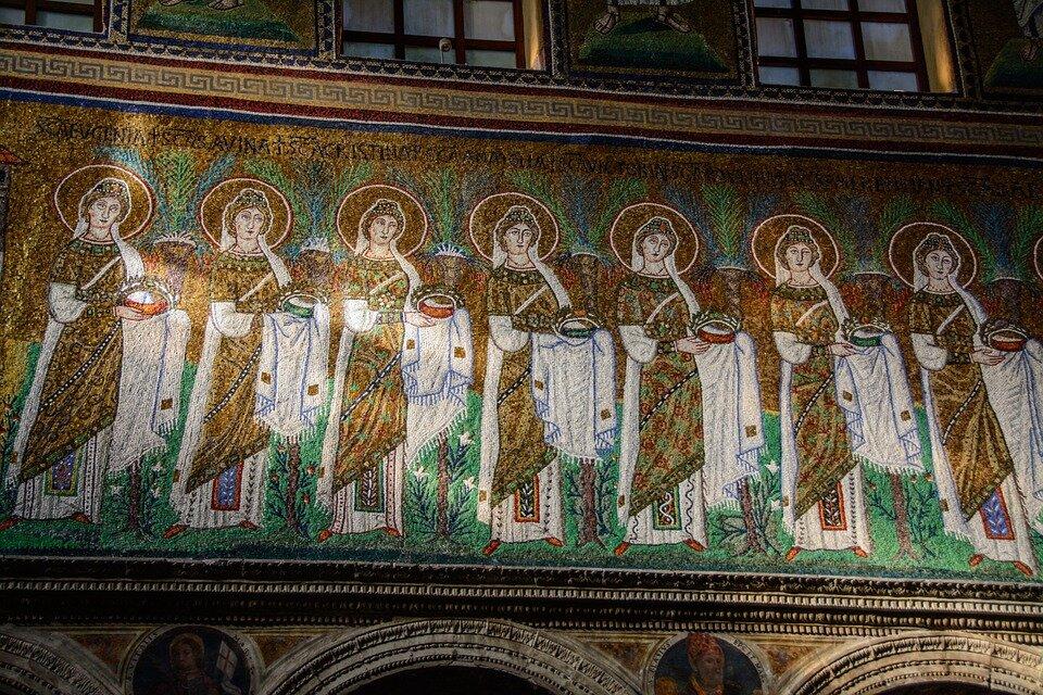 Mosaici Sant'apollinare Ravenna